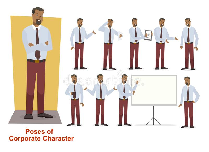 Group of business and corporate character stock photography