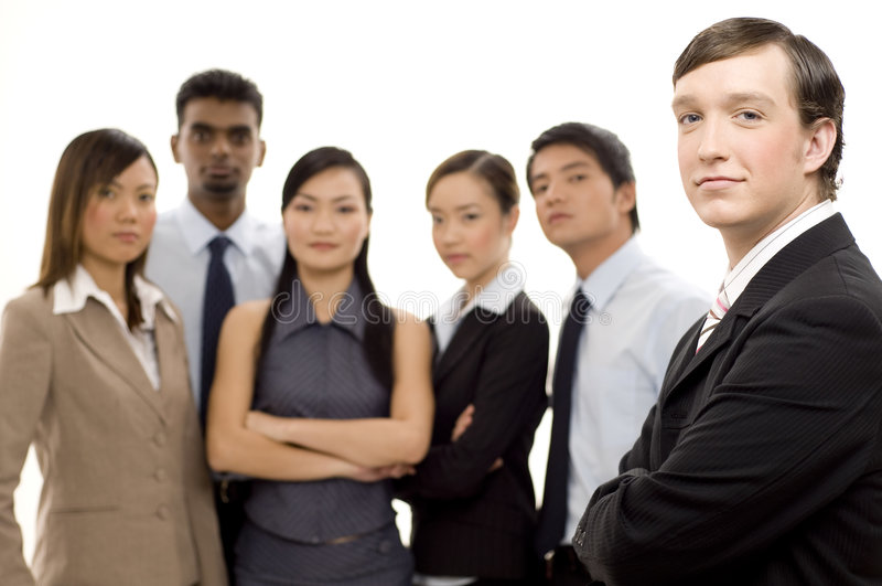 Group Business Leader 2 Stock Photos