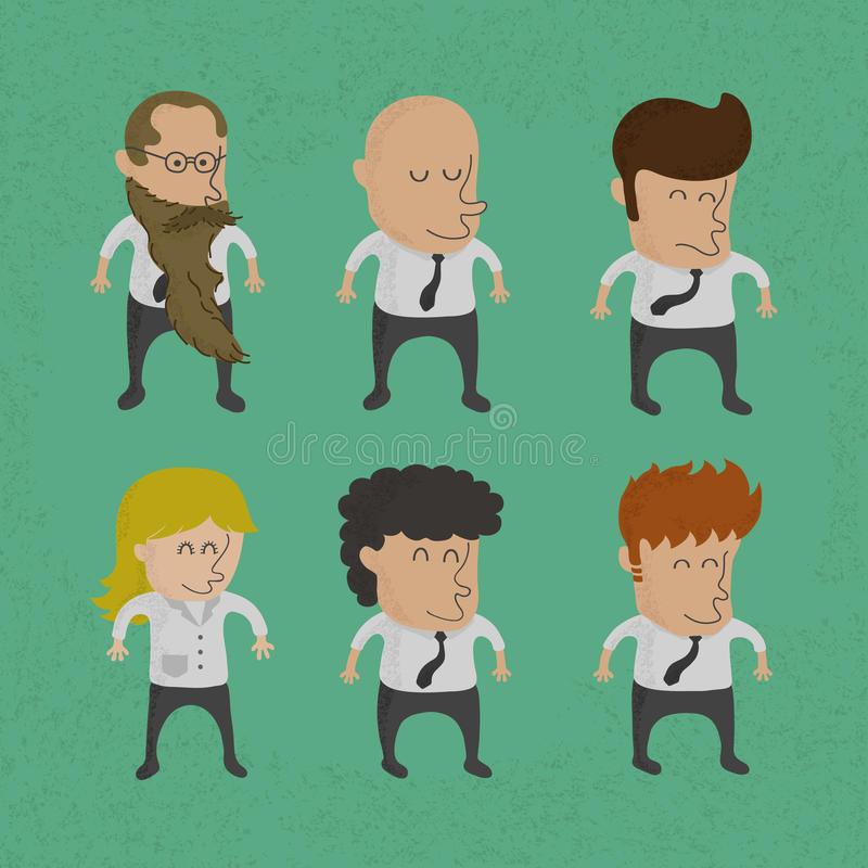 Download Group Of Business Men , Women Charactor Stock Vector - Illustration: 31453838