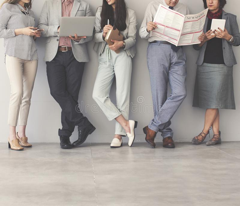 Group of business people. Group of the business people stock images