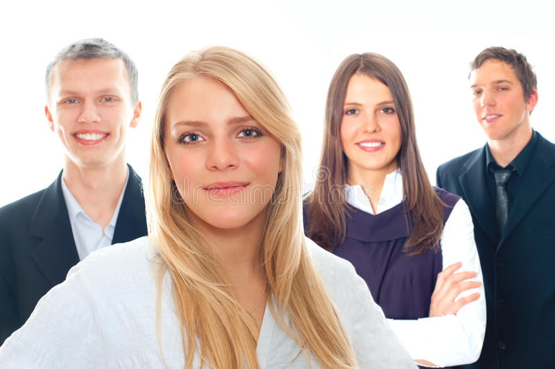 Download Group of business people stock image. Image of smile - 17637833