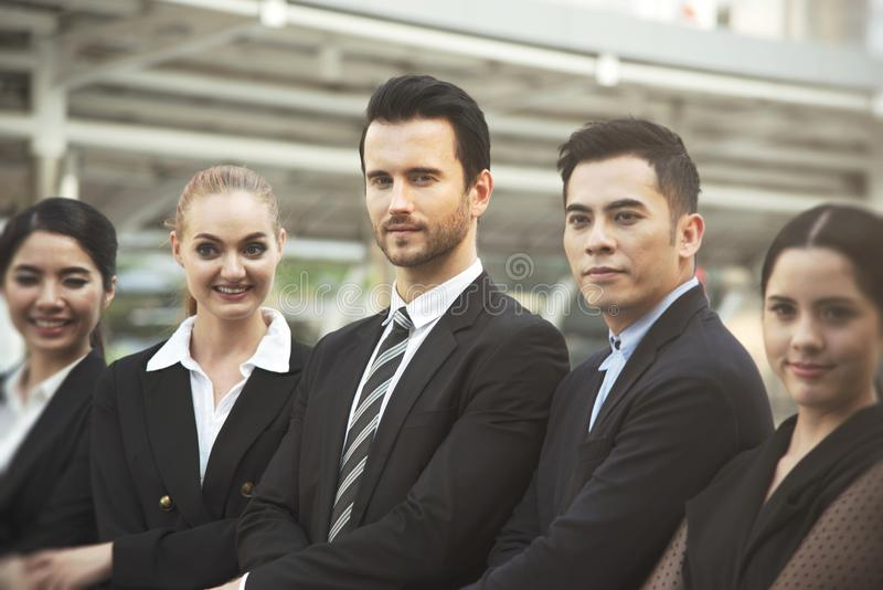 Group of business people. business teamwork. royalty free stock photos