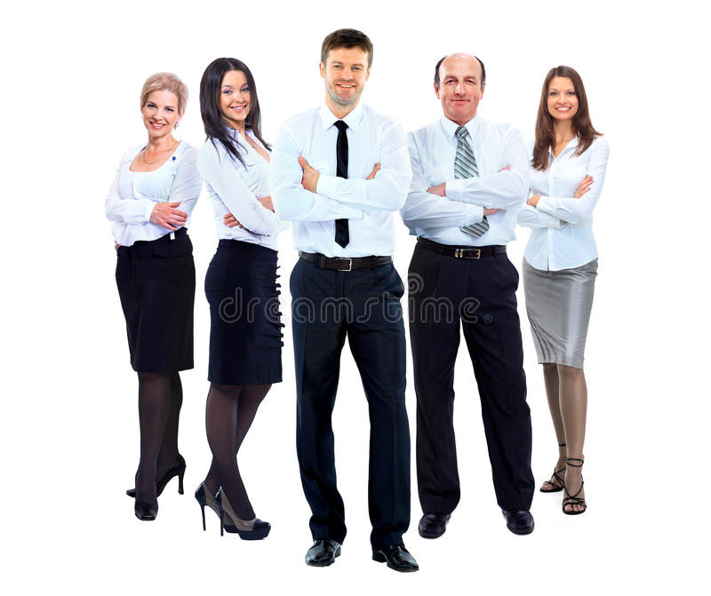 Group of business people i royalty free stock photography
