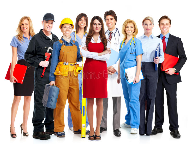 Download Group of business people. stock image. Image of contractor - 35581917