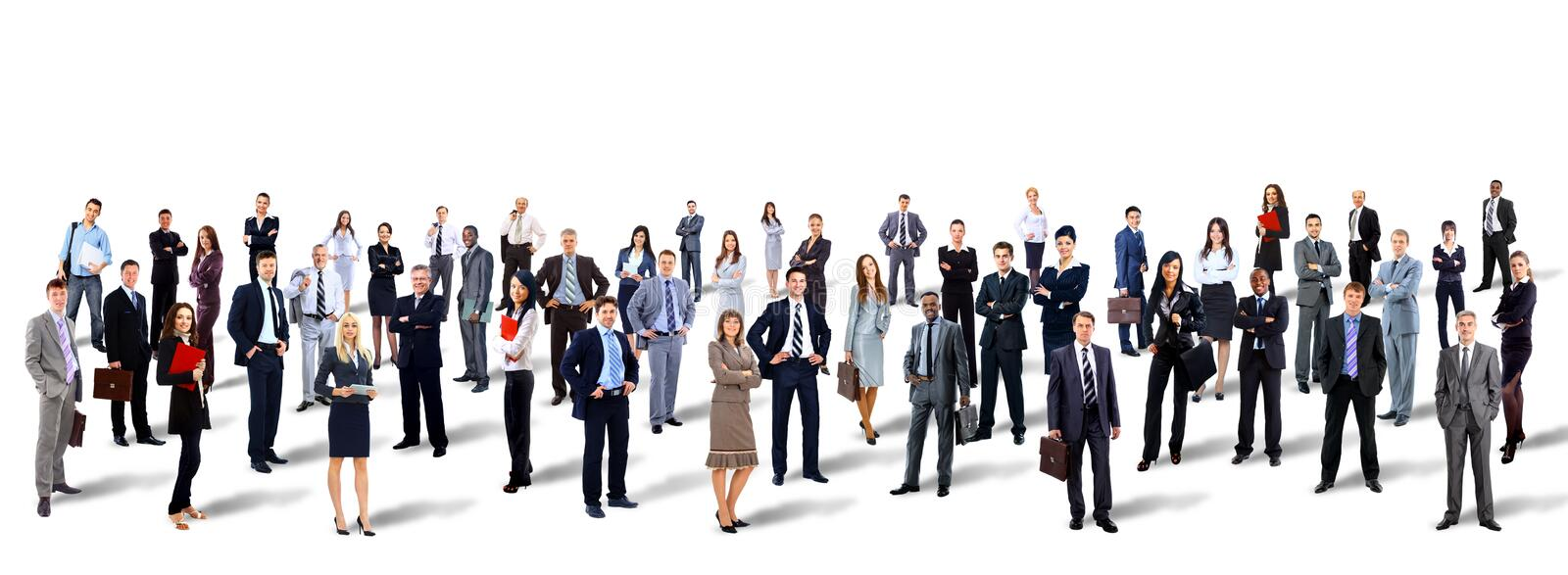 Group of business people. stock photos