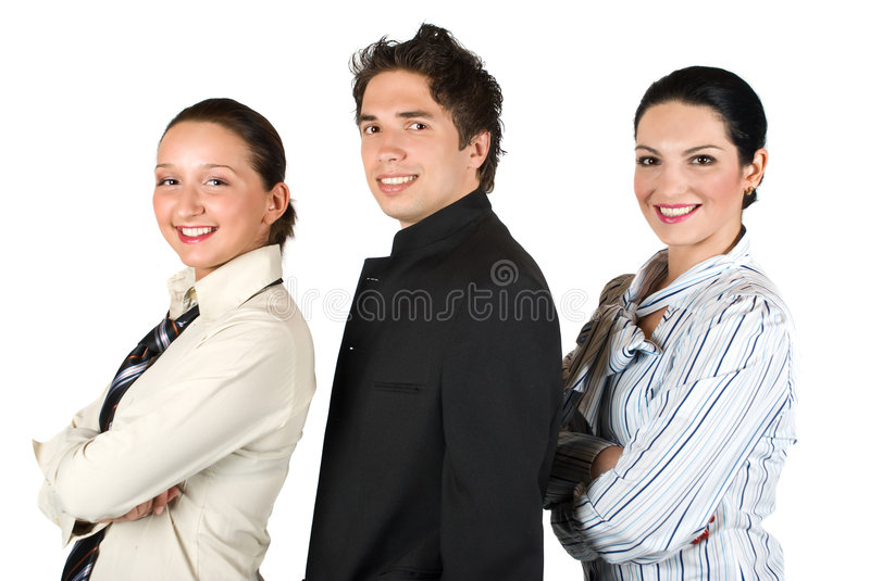 Download Group Of  Business People In Profile Royalty Free Stock Photography - Image: 9186337