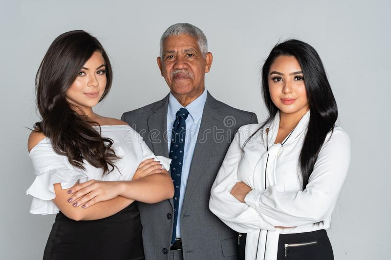 Group Of Business Team Members Working royalty free stock photos