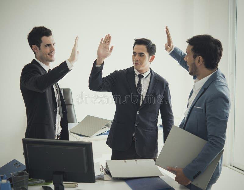 Group of businessman hands high five meeting greeting stock image download group of businessman hands high five meeting greeting stock image image of success m4hsunfo