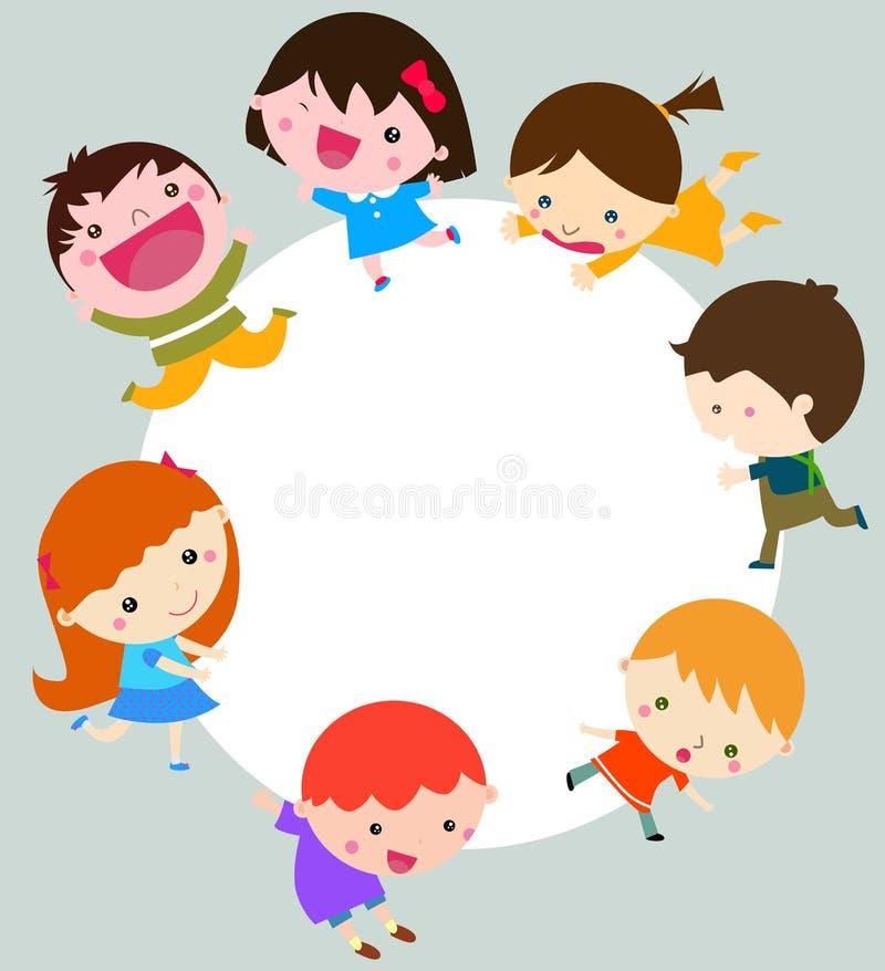 Download Group Of Children Having Fun Stock Vector - Illustration: 27345234