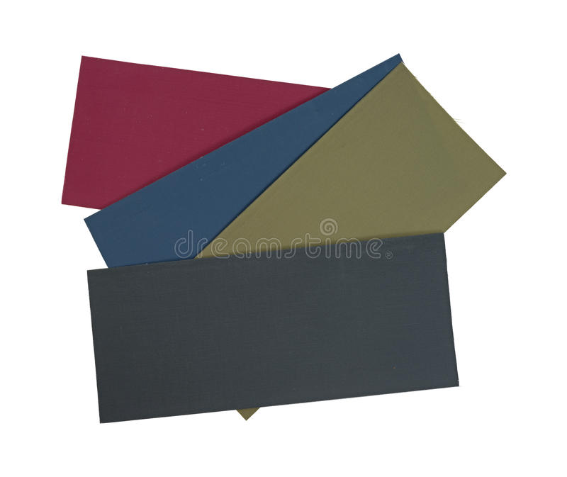 Group Of Cloth Pressure Patches Royalty Free Stock Image