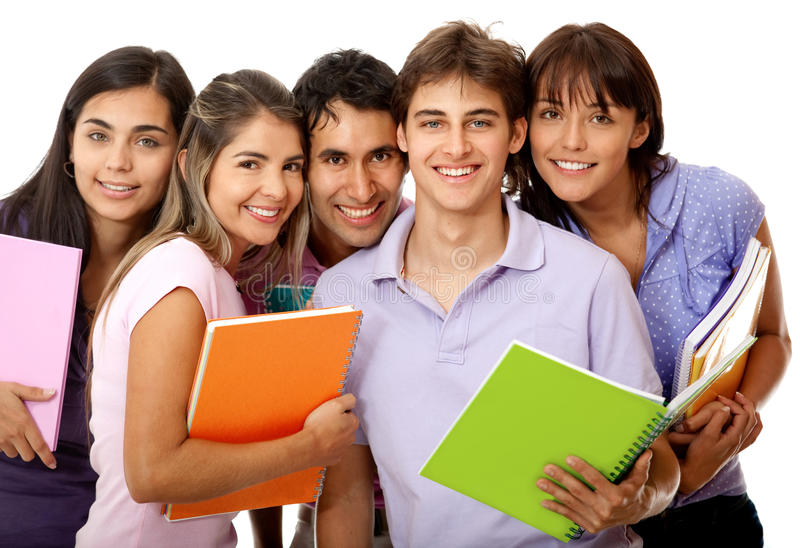 Download Group of college students stock image. Image of classmates - 22063951