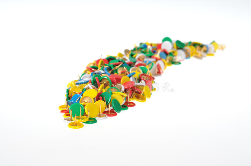 Download A Group Of Color Pins Stock Images - Image: 10794554