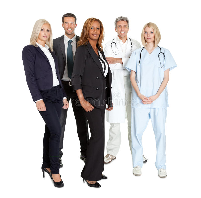 Download Group Of Confident Working People Stock Photo - Image: 27066168