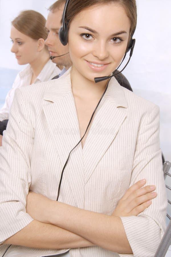 Group Of Customer Service Representativ Stock Photography