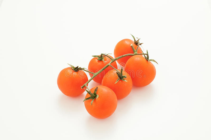 Group datterini tomatoes already cleaned ready to be cooked. Italy royalty free stock image