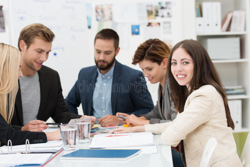 Download Group Of Dedicated Business Professionals Stock Image - Image: 34292355