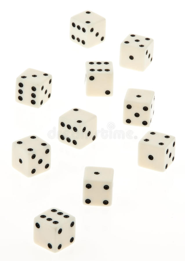 Group of Dice royalty free stock image
