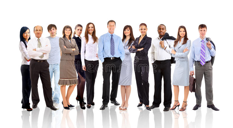Group Of Different People Stock Images