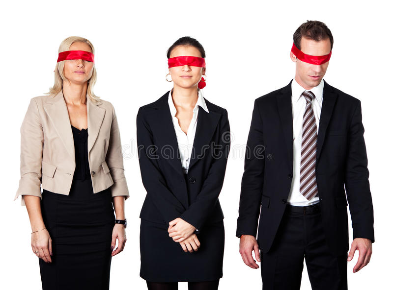 Download Group Of Disoriented Businesspeople Stock Photo - Image: 18073862