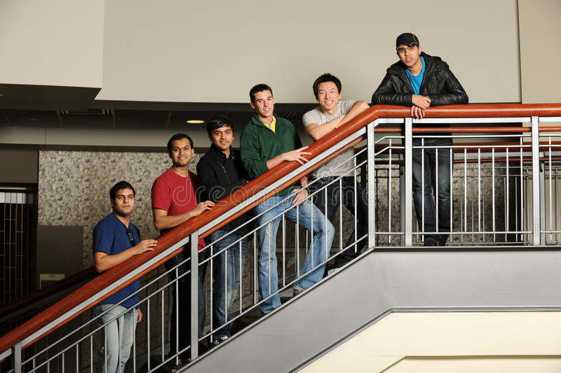 Download Group Of Diverse College Students Stock Photo - Image: 22414006