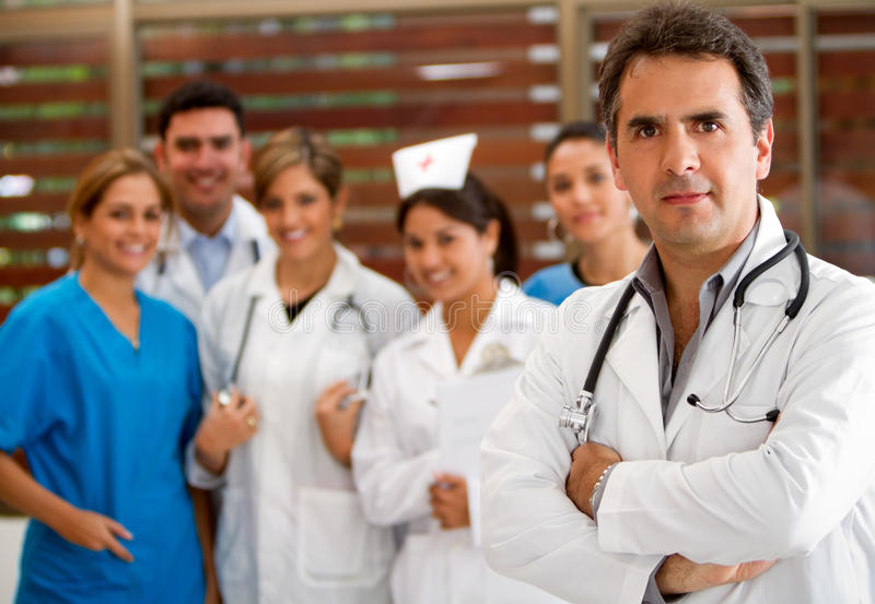 Download Group of doctors stock photo. Image of hospital, smiling - 18519540