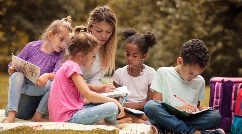 Group education. stock photo