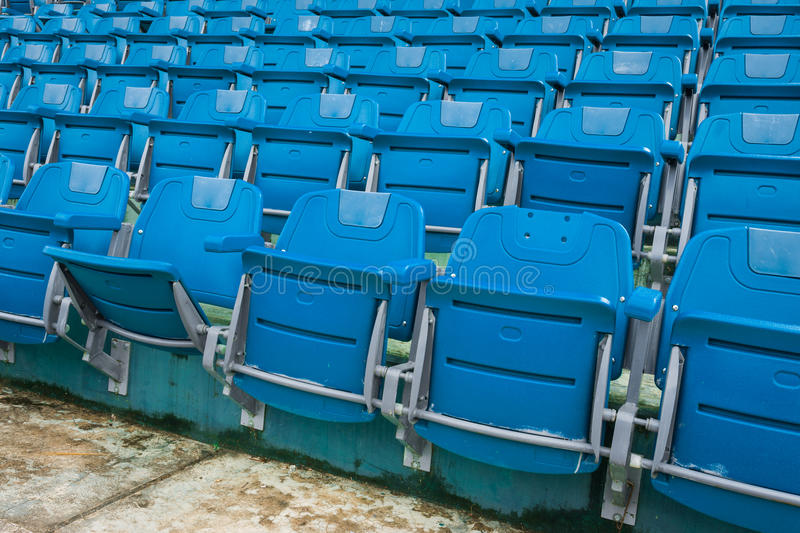 A group of empty seat or chair in stadium , theater or concert stock image