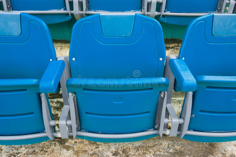 A group of empty seat or chair in stadium , theater or concert stock images