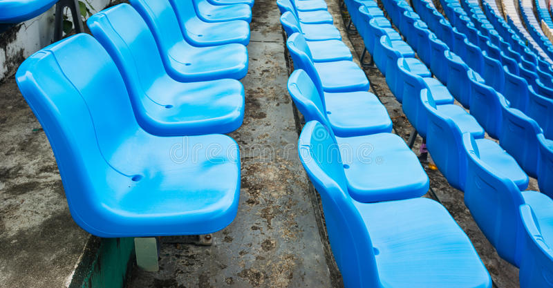 A group of empty seat or chair in stadium , theater or conxert stock photography