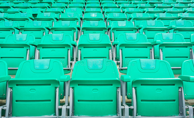 A group of empty seat or chair in stadium , theater or conxert royalty free stock photography