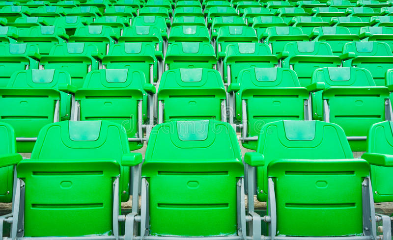 A group of empty seat or chair in stadium , theater or conxert royalty free stock images