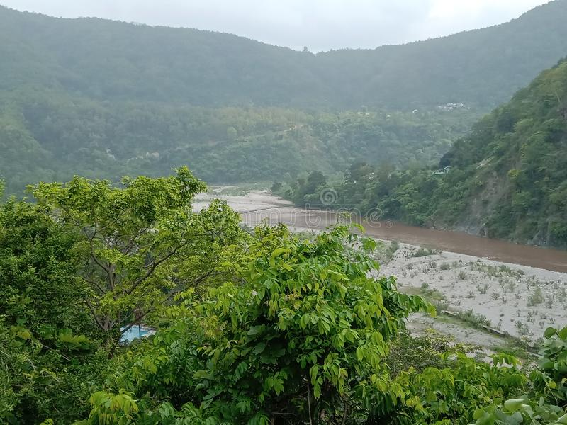 Natural photographs uttarakhand india. jim corcett national park stock photography