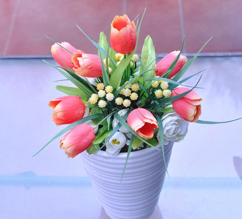 A group of flower in the vase that can be used for commercial purposes and mock up designs. And etc stock images