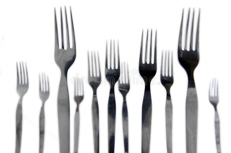 Download Forks stock image. Image of food, famine, sharp, isolated - 30255079