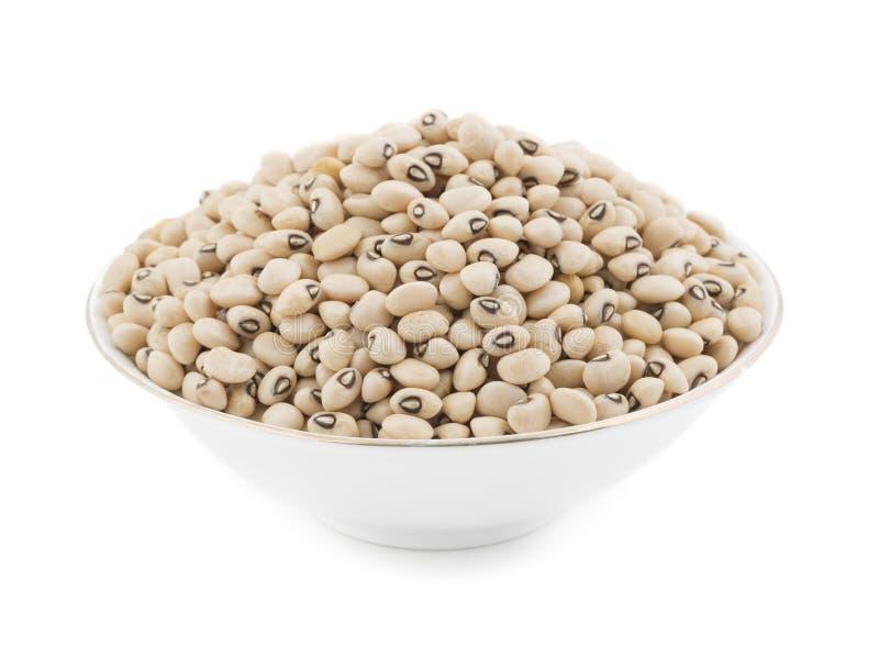 Black-eyed Beans. Group of fresh Black-eyed Beans stock image