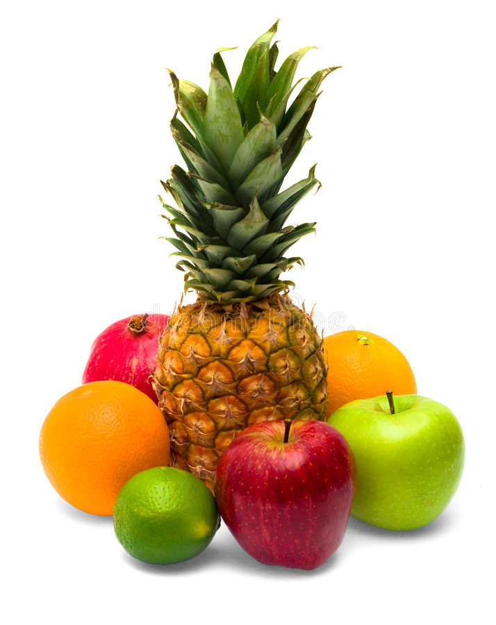 Download Group of fresh fruits stock image. Image of isolated, bright - 9016211