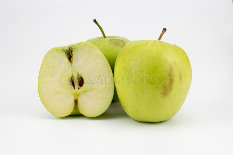 Group of fresh healthy apples. Group of Fresh, healthy apples. isolated background, multiple uses is possible stock photography