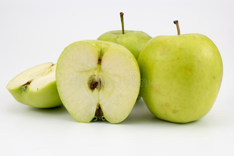 Group of fresh healthy apples. Group of Fresh, healthy apples. isolated background, multiple uses is possible stock photo