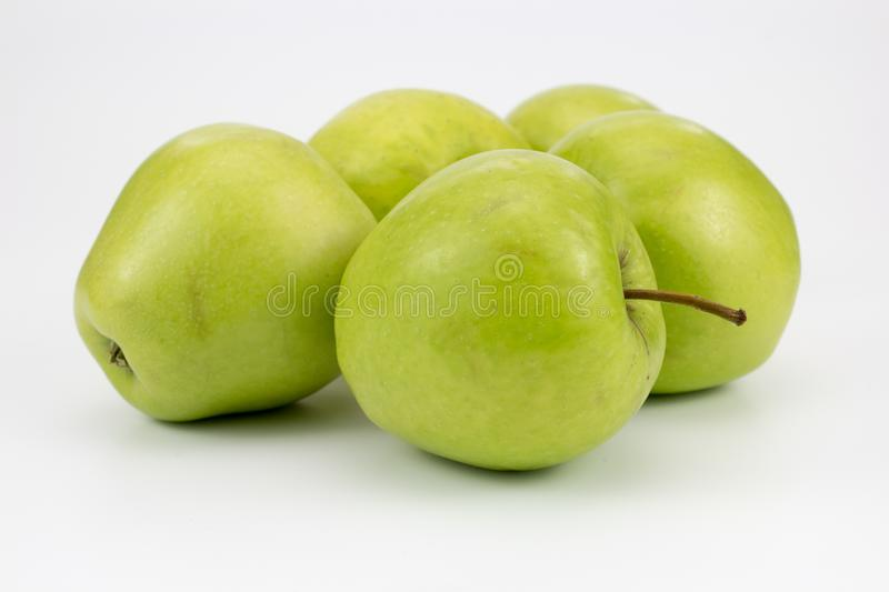 Group of fresh healthy apples. Group of Fresh, healthy apples. isolated background, multiple uses is possible royalty free stock photo