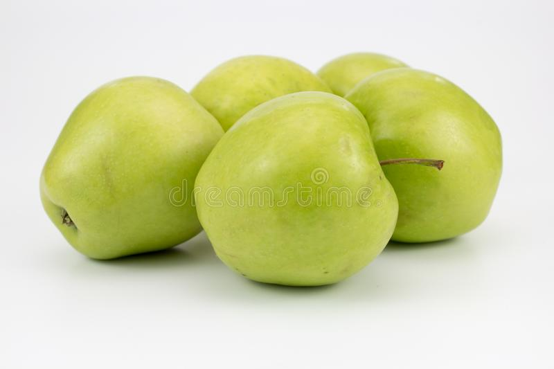 Group of fresh healthy apples. Group of Fresh, healthy apples. isolated background, multiple uses is possible stock images