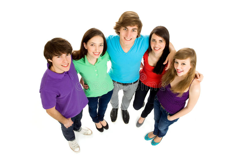 Download Group of friends stock image. Image of attractive, elevated - 14283595