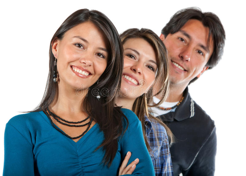 Download Group of friends stock image. Image of latin, white, cooperation - 14479879