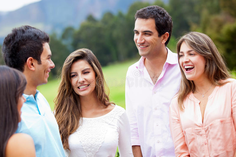 Download Group of friends stock photo. Image of latinamerican - 23292162
