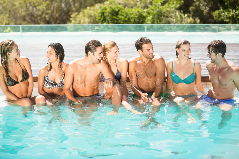swimming pool with friends. Brilliant Swimming Download Group Of Friends Having Fun In Swimming Pool Stock Image   Of Cheerful On With I