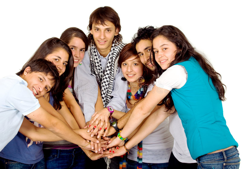 Download Group of friends united stock image. Image of business - 3300249