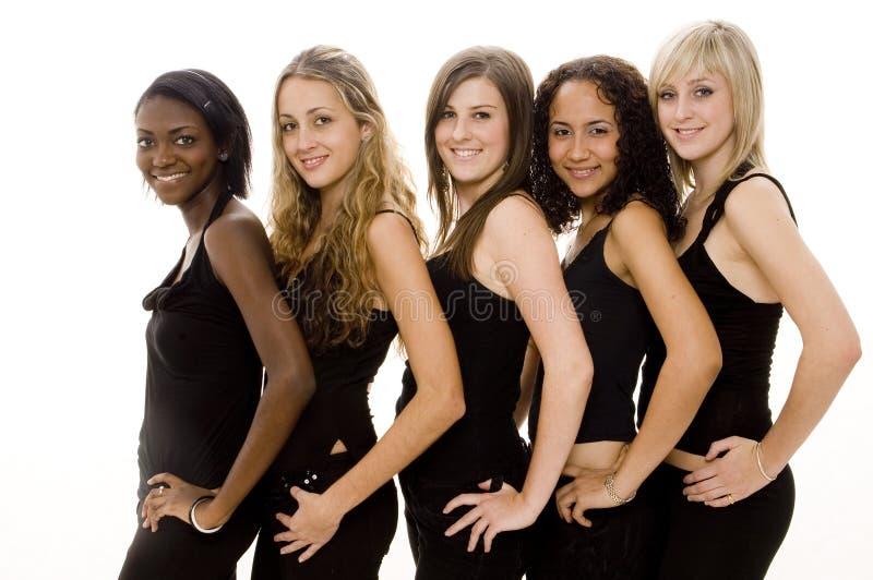 Group Friendship Stock Photo