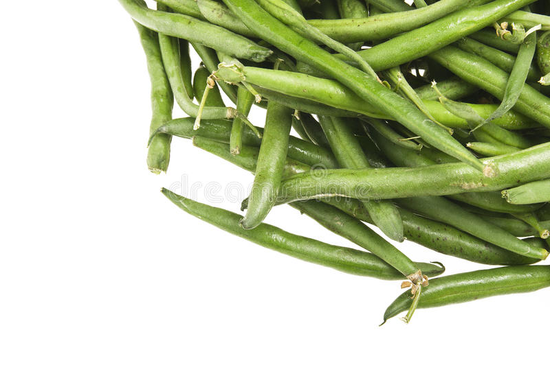 Group of green beans royalty free stock photography
