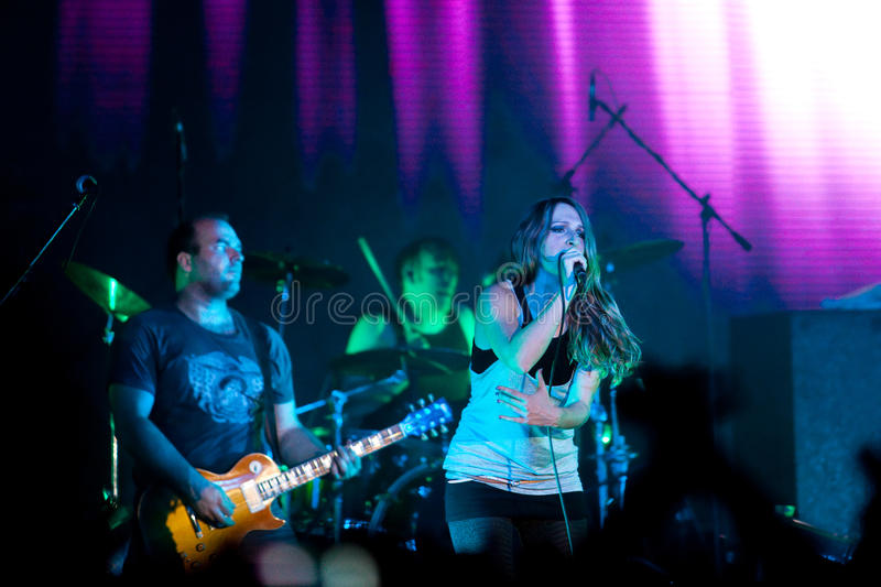 Download Group Guano Apes editorial stock image. Image of sandra - 19366724