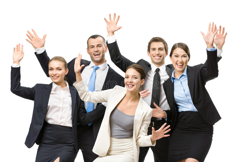 Download Group Of Happy Business People Stock Photo - Image: 34734070