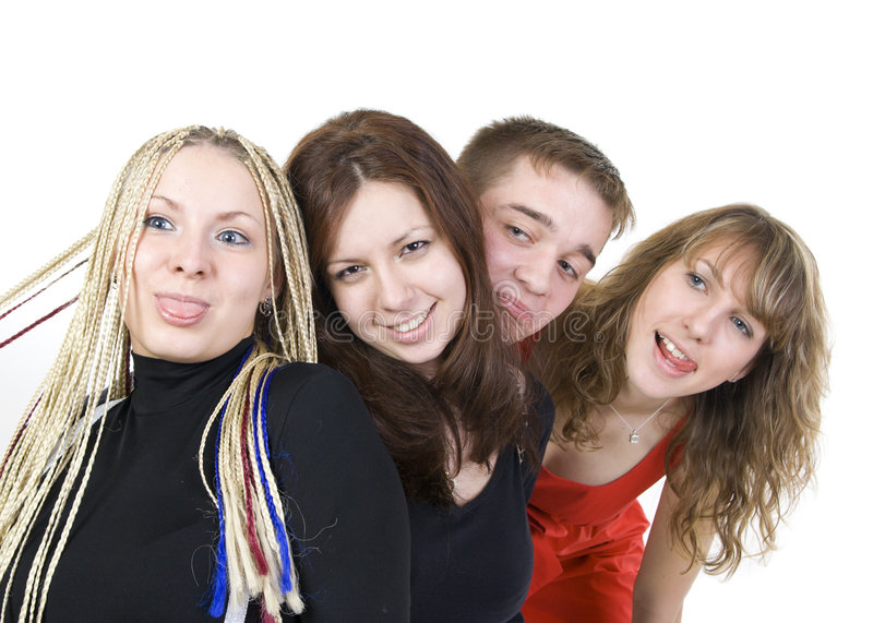 Download Group Of Happy Friends Stock Images - Image: 7122994